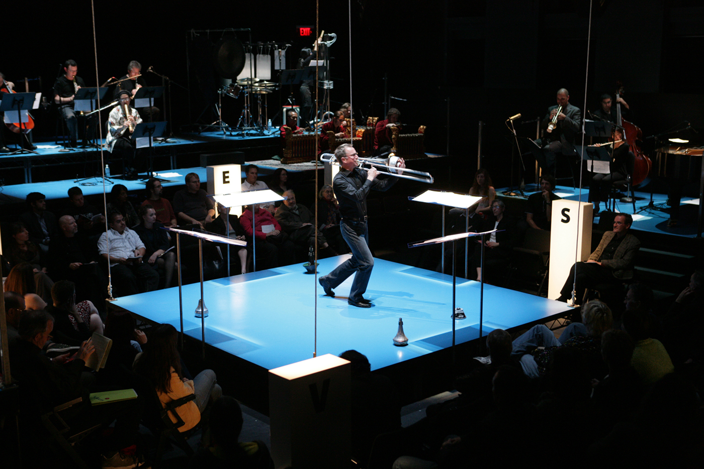 CNP's co-production of 'Vineland Stelae,' a work by Sandeep Bhagwati at CalArts' REDCAT Theater
